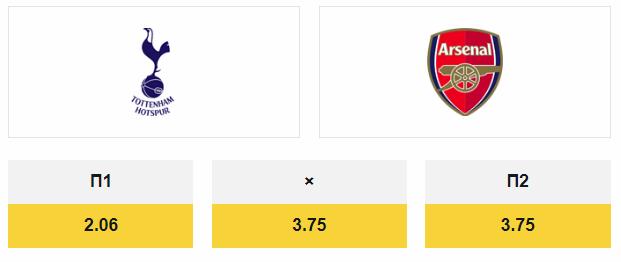 Бесплатный прогноз на футбол: Тоттенхэм Хотспур – Арсенал