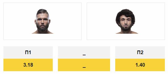 Бой Магомедшарипова против Стивенса на UFC